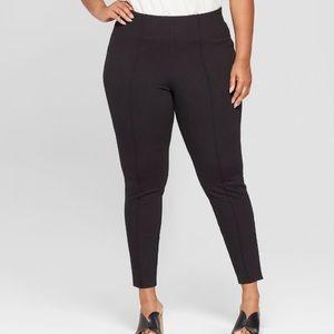 cf15ee8da Ava   Viv skinny pull-on dress pants elastic waist